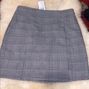 Windsor new with tags plad skirt size small